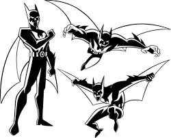 batman beyond coloring pages pertaining to invigorate in coloring
