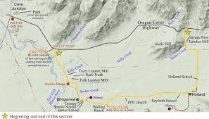 Portland Oregon Traffic Map by Section 4 U2013 Oregon Caves Road Guide Highway 199