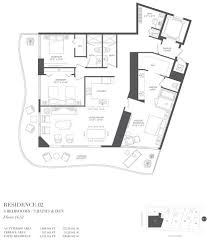 Plan 1440 Auberge Residences U0026 Spa 1440 South Biscayne Boulevard Miami Fl