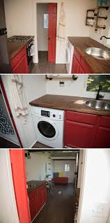 Kitchen Red Cabinets by 78 Best Tiny House Kitchens Images On Pinterest Tiny House
