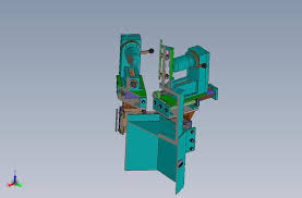multi head drilling machine drawing 3d solidworks 3d cad model
