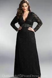 v neck empire long elegant evening dress plus size lace dress with