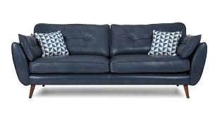 leather sofa navy leather sofa sofas