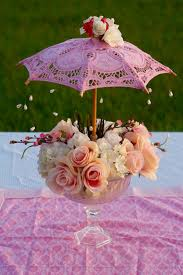 baby shower centerpieces ideas for boys oh so diy parasol garden party baby shower centerpiece