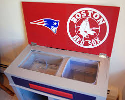 Old Cabinet Into Sports Fan Bar Hometalk