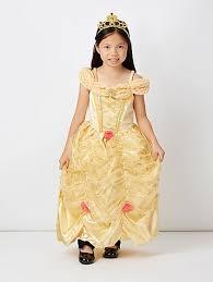 disney princess belle fancy dress costume kids george at asda
