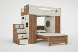 Bunk Bed L Shape Dumbo L Shaped Loft Bed With Stairs Casa