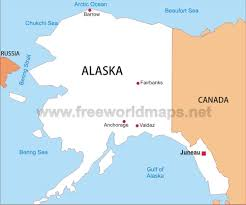 Alaska Cities Map by Alaska Simple Map Jpg