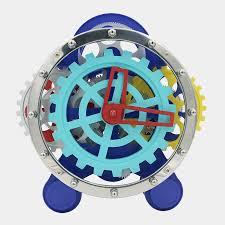 creative fashion art desk clocks table gear clock modern design