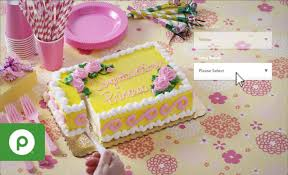 order custom bakery cakes with publix online easy ordering youtube