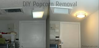 diy knockdown texture popcorn ceiling removal loversiq