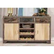 with wine rack buffet tables u0026 sideboards