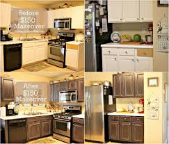 Frugal Kitchen Cabinet Makeover The Happy Housewife  Home - Kitchen cabinets makeover
