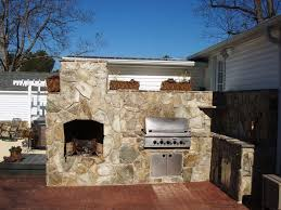 decorations wonderful structure stone outdoor fireplace combine
