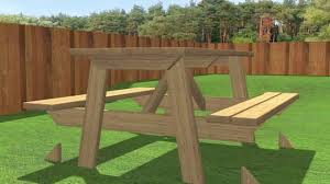 How To Build A Hexagonal Picnic Table Youtube by How To Build A Picnic Table 13 Steps With Pictures Wikihow