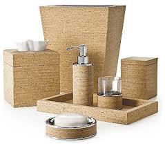 labrazel cork bath accessories contemporary bathroom accessories