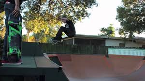 backyard mini ramp jam youtube