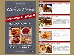 livre cuisine fran ise guide de pierrette cuisine