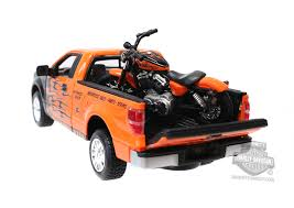ma 32182 harley davidson 2010 ford f 150 stx orange with black
