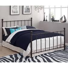 brickmill metal full bed multiple colors walmart com