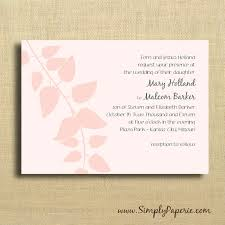 Blush Wedding Invitations Wedding Invitations Collection Simply Paperie