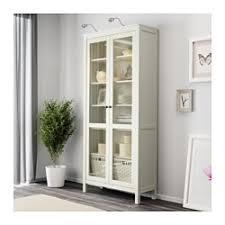Ikea 2 Door Cabinet Ikea Hemnes Glass Door Cabinet White Stain Solid Wood Has A