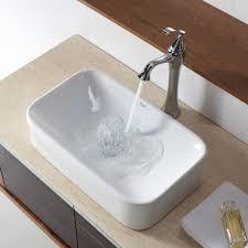Narrow Rectangular Bathroom Sink Narrow Vessel Sink Befon For