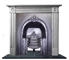 antique georgian regency cast iron hob register grate fireplace