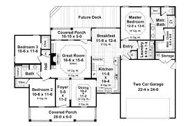 Home Design For 1800 Sq Ft Ranch Style House Plan 3 Beds 2 00 Baths 1700 Sq Ft Plan 21 288