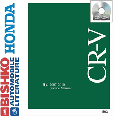2007 2008 2009 2010 honda cr v crv shop service repair manual cd
