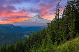 Oregon scenery images Mt hood scenic byway is an oregon adventure koa camping jpg