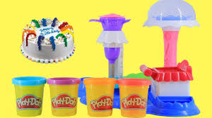 play doh birthday cake happy birthday cake games kids kitchen