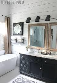rustic modern farmhouse bath tour inside this bathroom s 6 000 farmhouse style facelift farmhouse