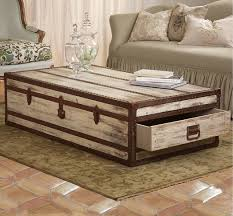 storage trunk coffee table top rustic trunk coffee table storage home design in style tables