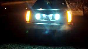 new gm clear cadillac sts lights