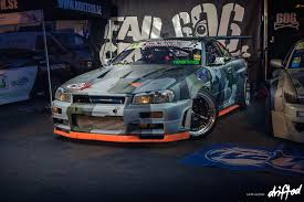 nissan skyline 2014 custom event gatebil by night drifted com