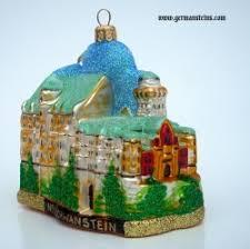 neuschwanstein castle german glass ornament
