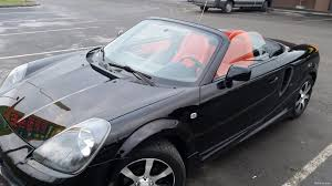 toyota mr2 1 8 vvt i roadster convertible 2003 used vehicle