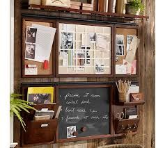 Rustic Wood Ledge Pottery Barn Build Your Own Daily System Components Rustic Mahogany Stain