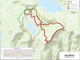 Iron Mountain Michigan Map by Map Of The Ragnar Trail Tahoe Course California Dreamin