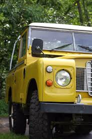 land rover yellow retro rover u2014 1979 land rover santana series iii