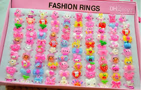 baby girl rings images 2018 fashion baby girl children attractive cartoon resin jpg