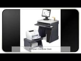 White Compact Computer Desk Compact Computer Desk Youtube