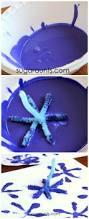 winter snowflake stamp art art activities activities and winter
