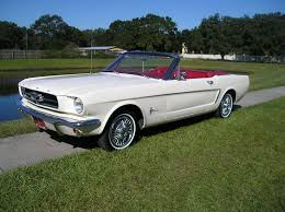 1950s mustang 1965 ford mustang convertible diggin the white w interior