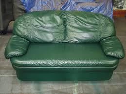 Leather Sofa Repair Tear by After Picture Of Leather Couch Restored Using Leather Repair