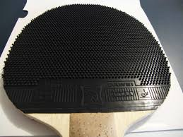 table tennis rubber reviews gluing long pimples rubber the easiest way