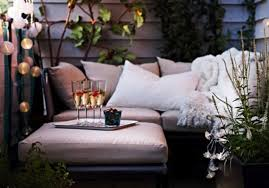 small balcony furniture lights