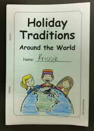 children s printable book for holidays around the world