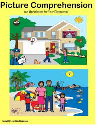picture comprehension worksheets free autism picture comprehension and worksheets
